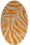 rug #433734   oval animal rug