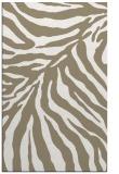 rug #433769 |  white stripes rug