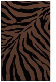 rug #433785 |  brown stripes rug