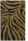 rug #433789 |  black stripes rug