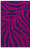 rug #433797 |  blue stripes rug