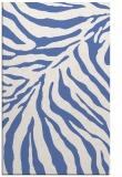 rug #433809 |  blue stripes rug