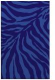 rug #433873 |  blue-violet animal rug