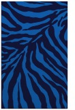 rug #433937 |  blue stripes rug