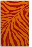 rug #434013 |  orange animal rug