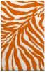 rug #434037 |  red-orange animal rug