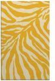 rug #434057 |  yellow animal rug