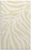 rug #434061 |  yellow stripes rug