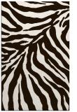 rug #434065 |  brown stripes rug