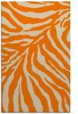 rug #434085 |  orange stripes rug
