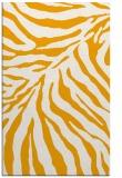 rug #434105    light-orange animal rug