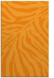 rug #434113    light-orange animal rug