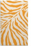 rug #434117 |  light-orange animal rug