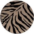rug #434133 | round black popular rug