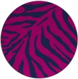 rug #434149 | round blue animal rug