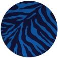 rug #434289   round blue animal rug