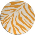 rug #434469 | round light-orange animal rug
