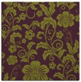 rug #438573 | square purple natural rug