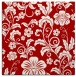 rug #438585 | square red natural rug