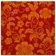 rug #438589   square orange popular rug