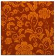 rug #438601 | square red-orange natural rug