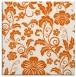 rug #438613   square red-orange natural rug