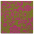 rug #438673   square light-green natural rug