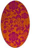 rug #438964 | oval natural rug