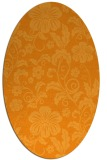 rug #439041 | oval light-orange natural rug
