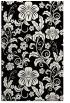 rug #439053 |  black natural rug