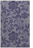 rug #439137    blue-violet natural rug