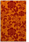 rug #439237 |  red-orange natural rug