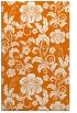 rug #439241 |  orange natural rug