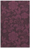 rug #439273 |  purple popular rug