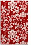rug #439289 |  red natural rug