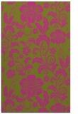 rug #439377 |  light-green natural rug