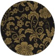 rug #439421 | round mid-brown natural rug