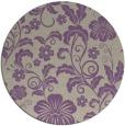 rug #439581 | round beige natural rug