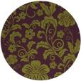 rug #439629   round purple natural rug