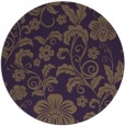 rug #439633 | round mid-brown popular rug