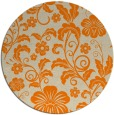 rug #439717   round beige natural rug