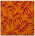 rug #443813 | square red-orange natural rug