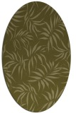 rug #444309 | oval light-green rug