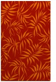 rug #444573 |  orange popular rug