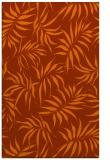 rug #444585 |  red-orange natural rug