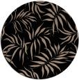 rug #444693 | round black natural rug