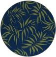 rug #444717 | round green popular rug