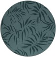 rug #444753 | round blue-green natural rug