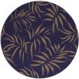 rug #444789 | round blue-violet rug