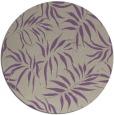 rug #444861 | round purple natural rug